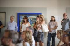 """Molti ospiti sono rimasti incantati dall'arte """"folle"""" di Merati"""